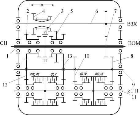 электрическая схема рисунок