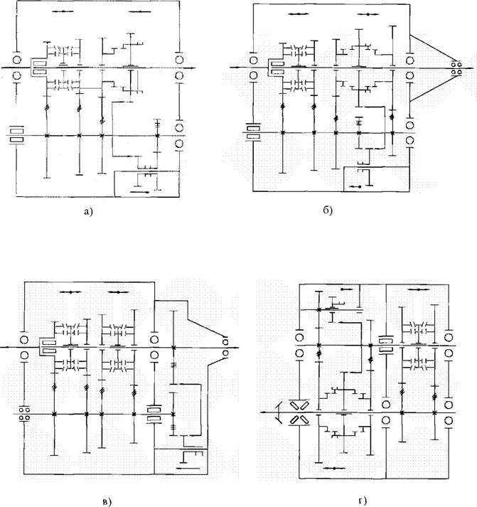 Рисі. Схемы четырехступенчатых
