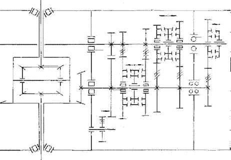 Рис.4. Схема пятиступенчатой