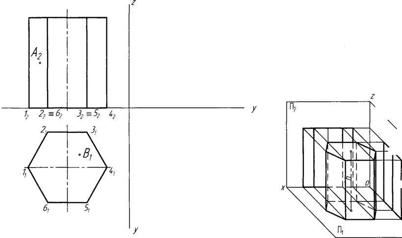 3 Проекции Усеченной Пирамиды